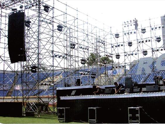 选择速安捷安全爬梯舞台脚手架,各大舞台架客户很放心!