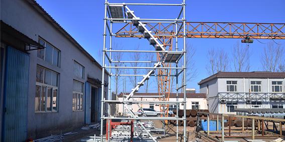 中铁十七局五公司成功采购速安捷轮扣式安全爬梯
