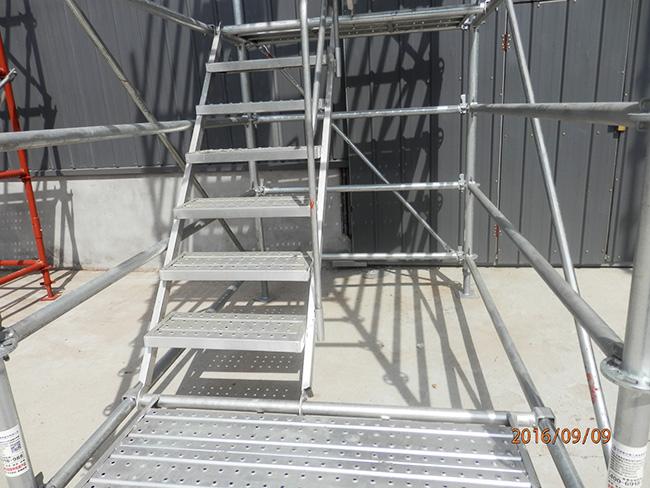 速安捷带您了解安全爬梯的特点