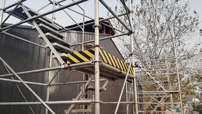 安全爬梯使用时的安全技能要求分析