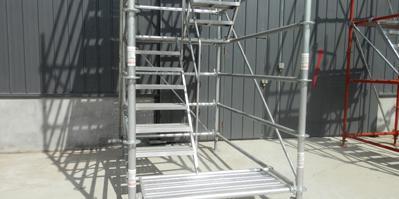 速安捷告诉您安全爬梯安装搭设方法
