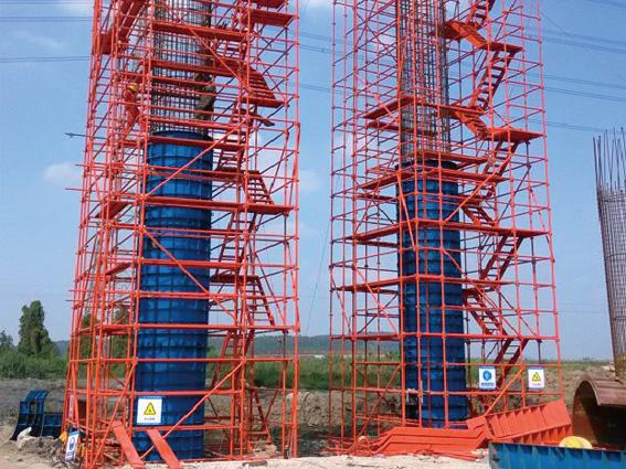 中铁十局第一工程有限公司采购速安捷盘扣式安全爬梯443.5米!