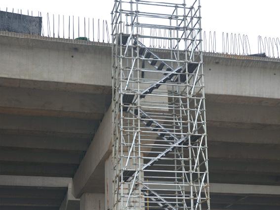 中铁六局和速安捷签订761.5米盘扣式安全爬梯采购合约!