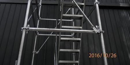 镀锌盘扣安全爬梯48盘扣-75  1.2*2.4(米)