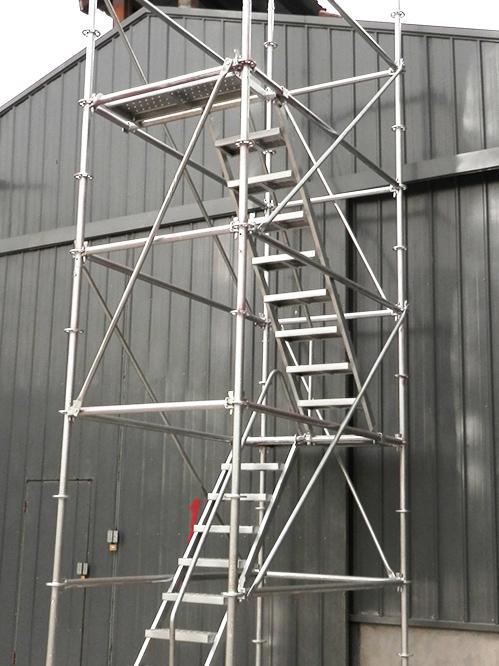 镀锌盘扣安全爬梯60盘扣-50 1.5*2.4(米)